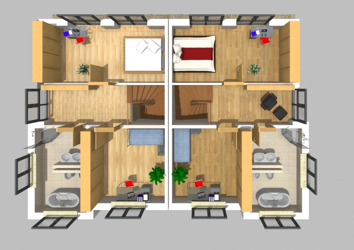 doppelhaus 22. Black Bedroom Furniture Sets. Home Design Ideas