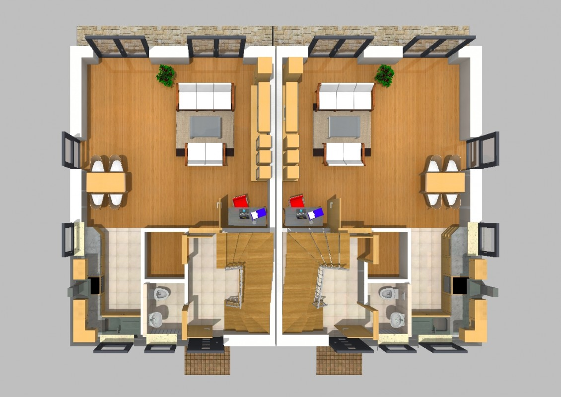 doppelhaus 32. Black Bedroom Furniture Sets. Home Design Ideas