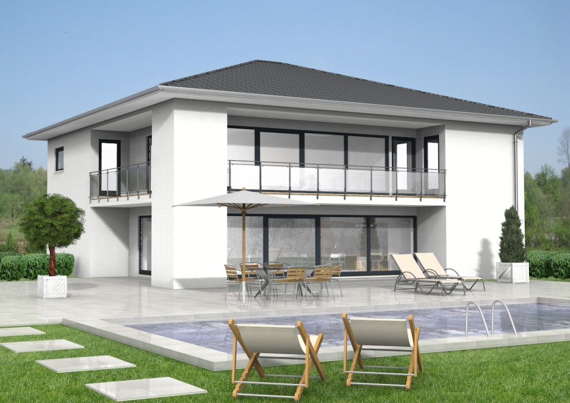 walmdach haus 42. Black Bedroom Furniture Sets. Home Design Ideas