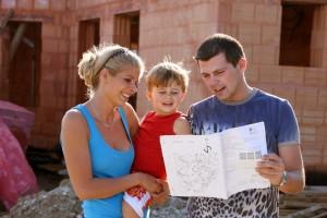 Bungalow für Familie bauen