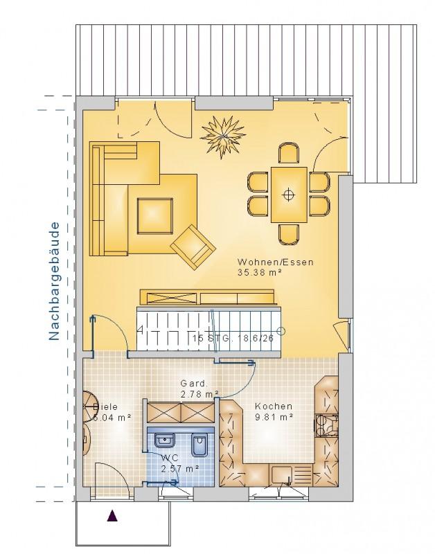 doppelhaus 25. Black Bedroom Furniture Sets. Home Design Ideas