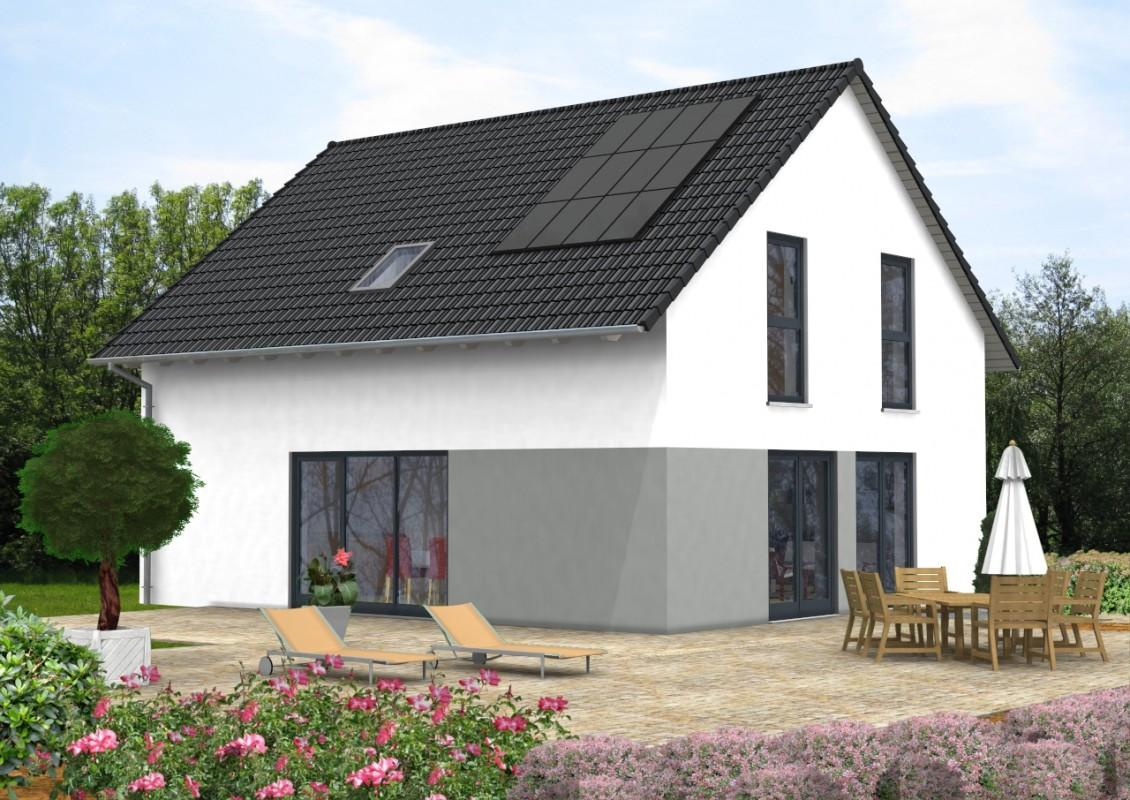 satteldach haus 250. Black Bedroom Furniture Sets. Home Design Ideas