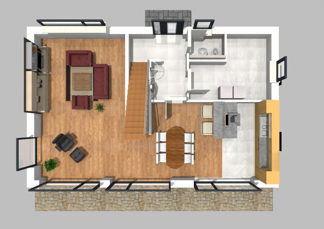 walmdach haus 40. Black Bedroom Furniture Sets. Home Design Ideas