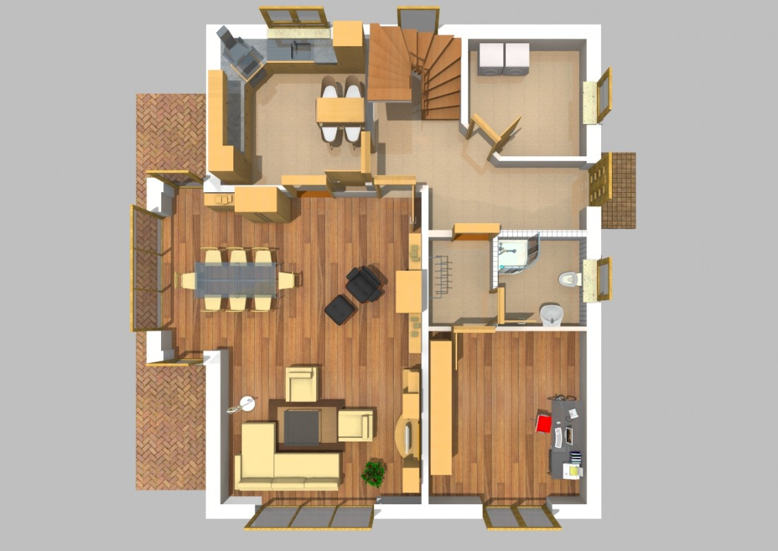 satteldach haus 50. Black Bedroom Furniture Sets. Home Design Ideas
